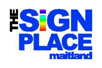 Sign place logo